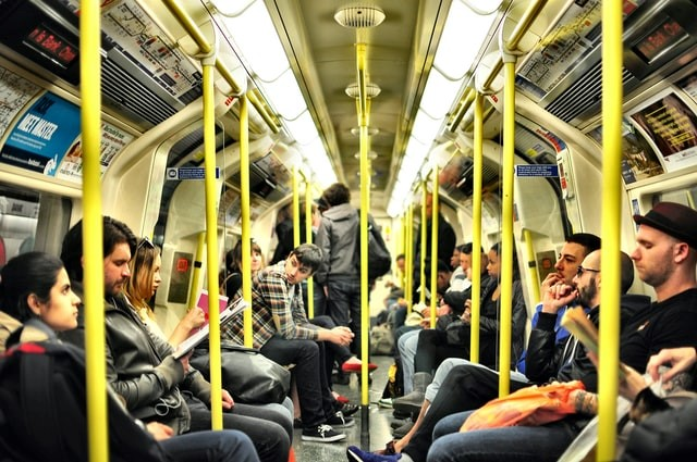A typical day in public transport.